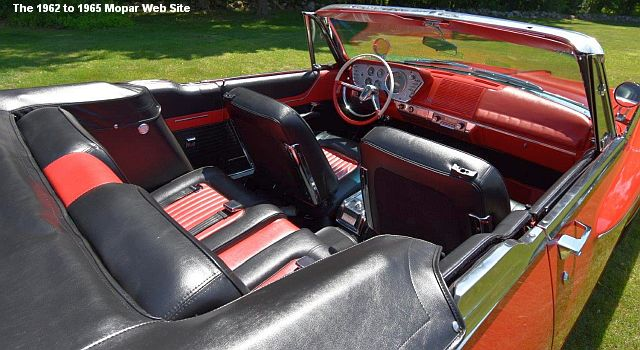 1962 Plymouth Sport Fury, interior