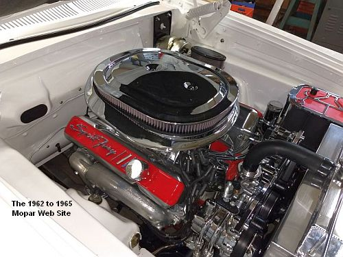 1963 Plymouth Sport Fury, engine