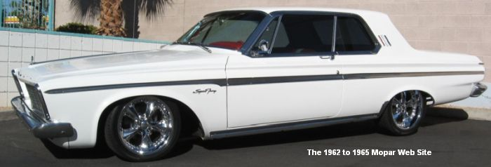 1963 Plymouth Sport Fury, driver side