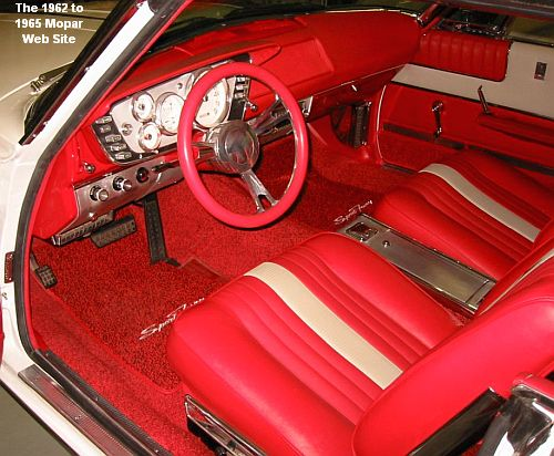 1963 Plymouth Sport Fury, interior