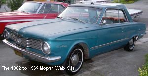 1964 Plymouth Valiant Signet 200 front