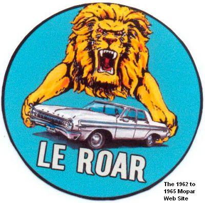 1964 Dodge Polara<q>LeRoar,</q> graphic