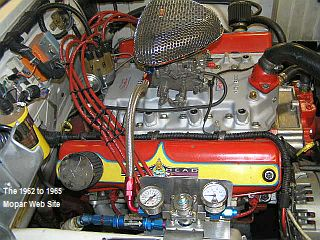 1964 Dodge Polara single four Weiand manifold